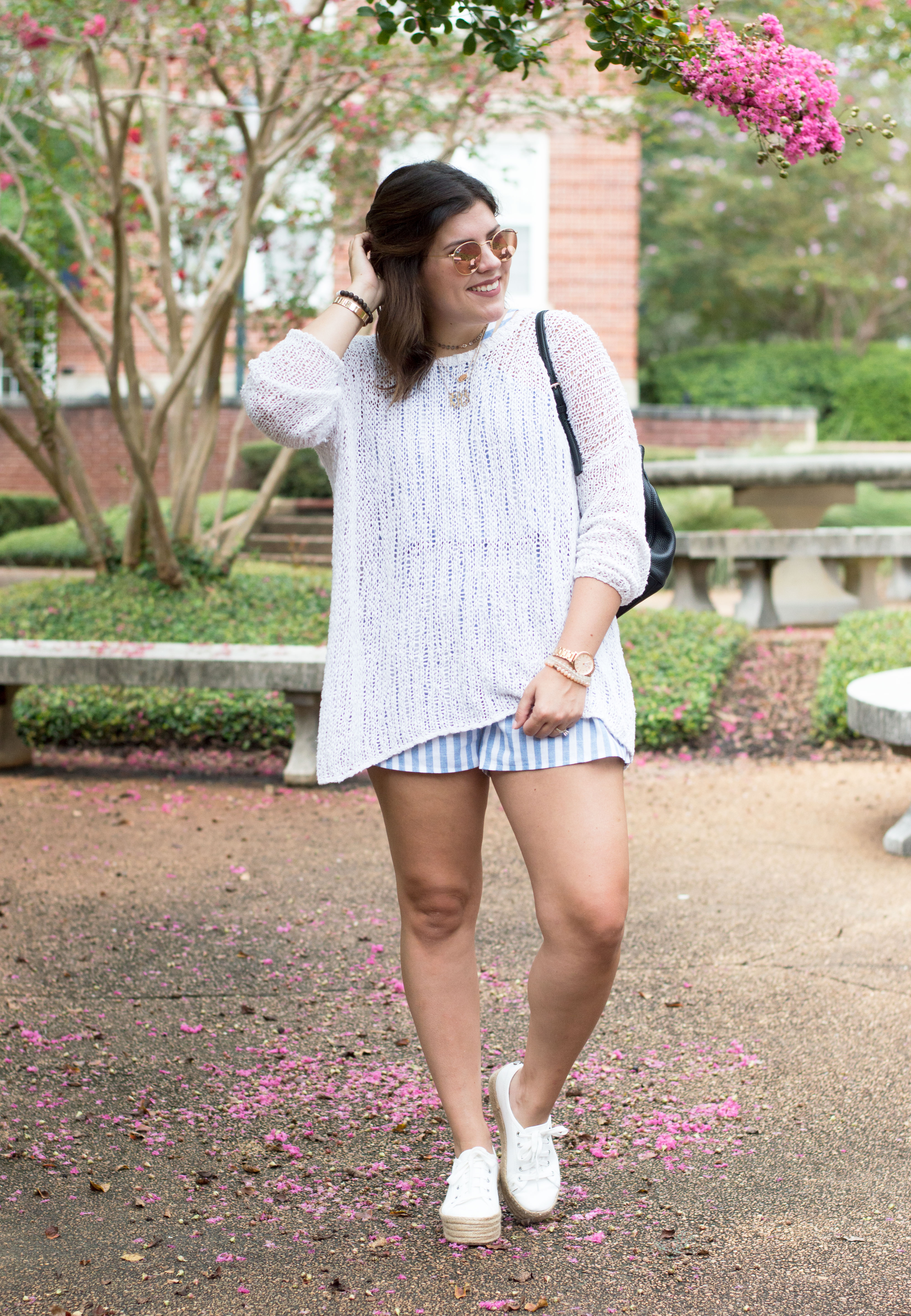 7b99ee770f75 How to Wear your Summer Rompers into Fall - Kassy On Design