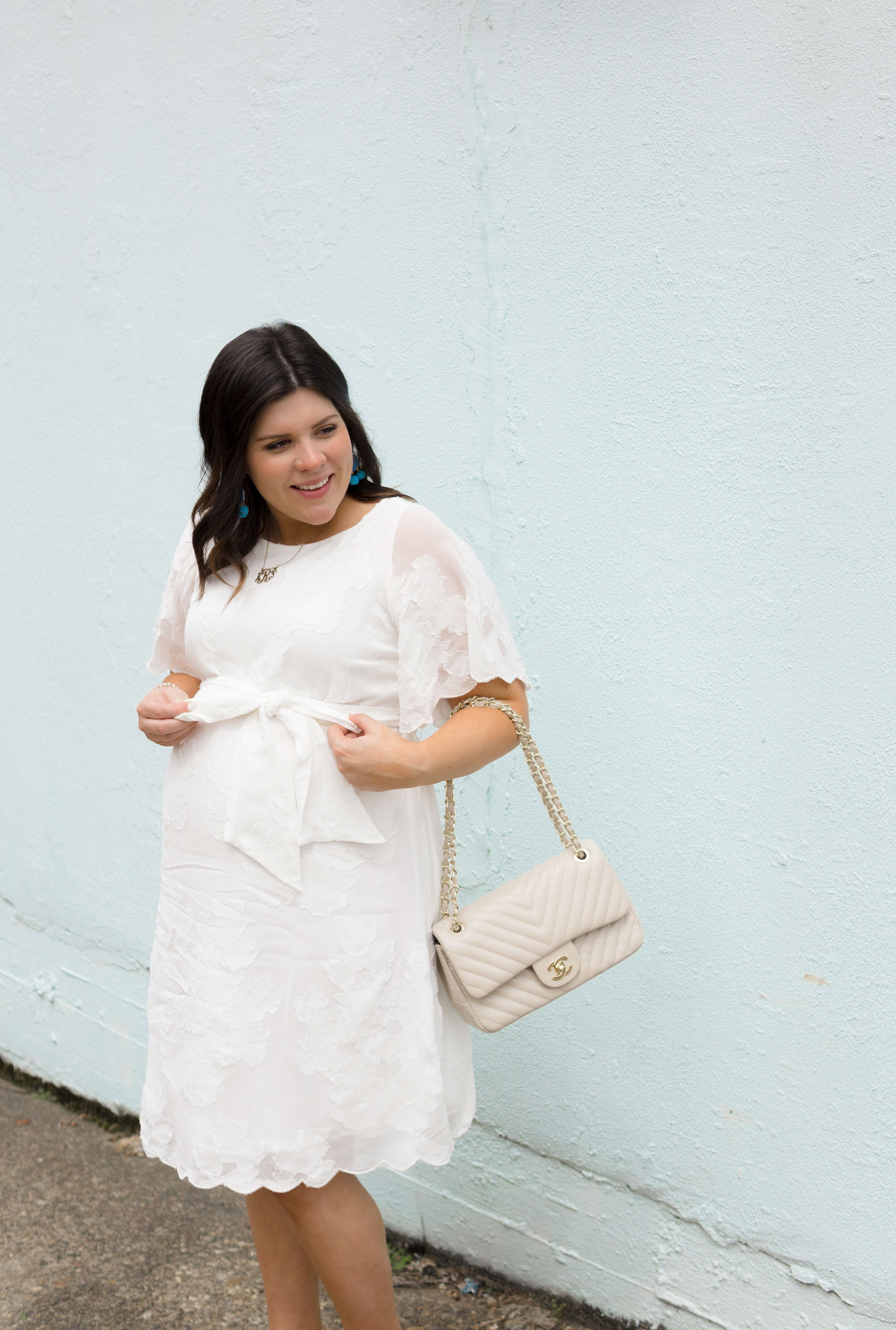 Combatting The Final Stretch Blues With Macy S Maternity Kassy On